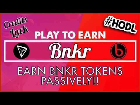 BNKR TOKEN IS HERE! 💰 Mine, Trade & HODL = Bankroll Network Value 💰 CREDITS, LUCK, DAILY, AIR