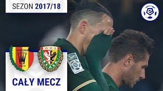 Korona Kielce - Śląsk Wrocław [1. połowa] sezon 2017/18 kolejka 15