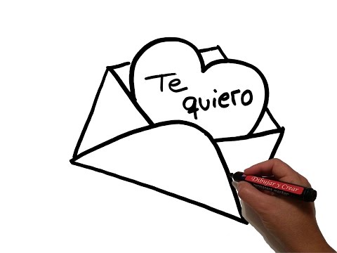 como-dibujar:-carta-de-amor-/-how-to-draw-love-letter