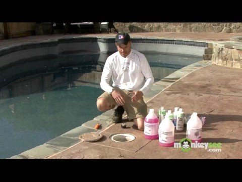 Winterize a Pool - Chemicals and Antifreeze