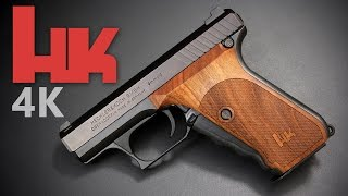 4K Review: H&K P7 - a marvel of German design and engineering