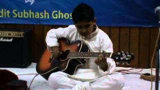 Raag bhopali  INDIAN CLASSICAL on Guitar (instrumental)  SARTH VATS