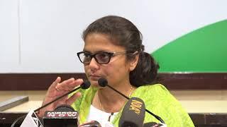 Sushmita Dev addresses media at Congress HQ on Nirmala Sitharamans Statement