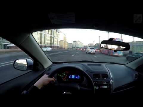 Chevrolet Cobalt - FPV Driving In 4k / Безмолвная поездка в 4k на Шевроле Кобальт (3840х2160)
