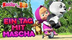 Mascha und der Bär - 👧 Ein Tag mit Mascha 👣
