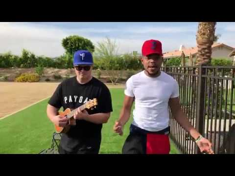 Chance The Rapper Vibin With Einer Bankz At Coachella