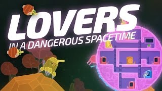 CUTEST SPACE GAME! | Lovers in a Dangerous Spacetime (Indie Space Sim Gameplay)