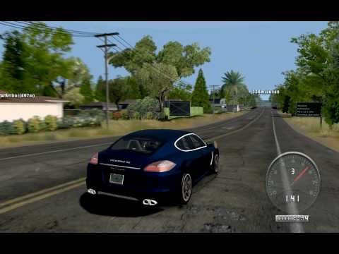 Porsche Panamera (2010) - Twin-Turbo V8 Engine Sound - TDU by rubie38