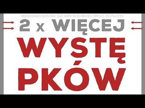 2 razy więcej występków: Daję Słowo - XVII niedziela C - 28 VII 2019