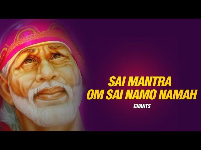 Om Sai Namo Namaha, Shree Sai Namo Namaha - by Suresh Wadkar - Sai Mantra - Sai Baba Songs