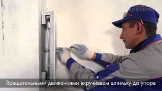 Установка ГВЛ на стену каркасным и бескаркасным методом (видео)