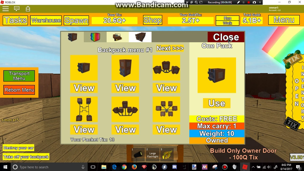 Roblox Tix Factory Tycoon Part 10b The Finish Of The Tower
