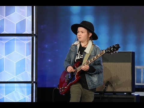 Kid Guitarist Taj Farrant Rocks the House