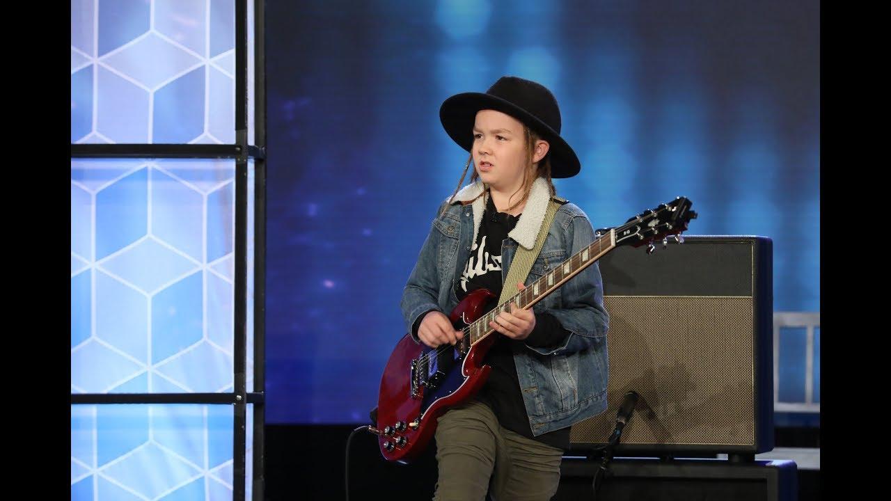 Kid Guitarist Taj Farrant Rocks the House