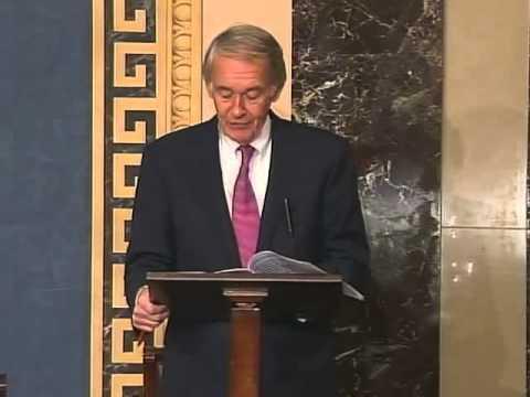 Senator Edward Markey pays tribute to late Boston Mayor Thomas M. Menino