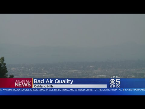 Wine Country Fires Causing Terrible Air Quality In Bay Area