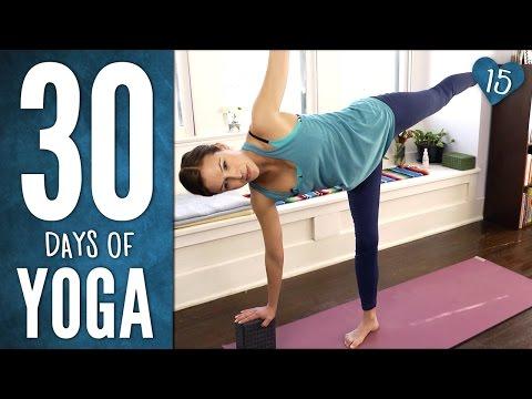 Day 15 - Half Hour Half Moon Practice - 30 Days of Yoga
