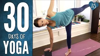 Day 15 - Half Hour Half Moon Practice - 30 Days of Yoga
