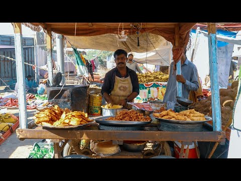 Street Food in Sunday Bazaar Karachi | Pakistan Food Street