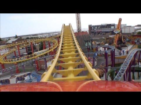 Millennium Roller Coaster POV Fantasy Island Skegness UK England