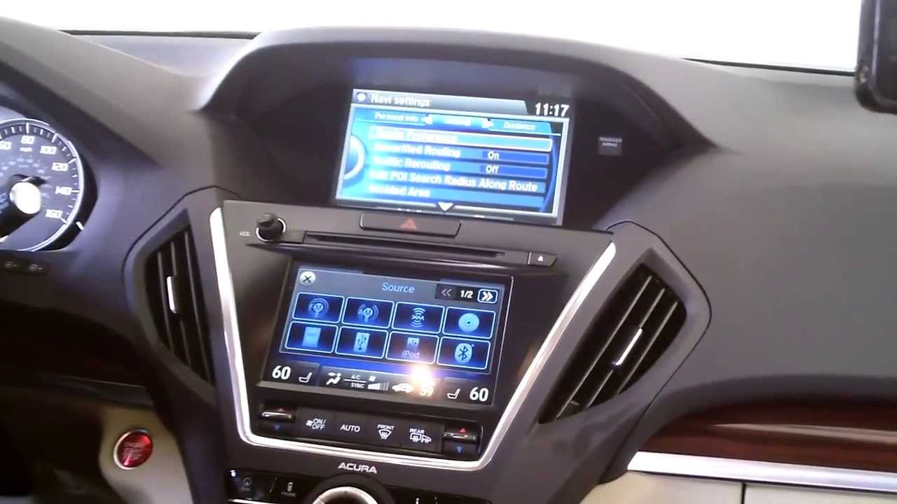 Updating navigation system in acura mdx