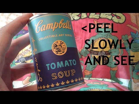Andy Warhol Collectable Art Series Mystery Can - Review