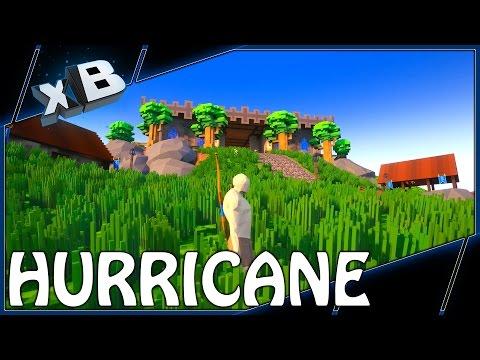 MINECRAFT MEETS ELDER SCROLLS?! :: Hurricane :: Early Access Gameplay