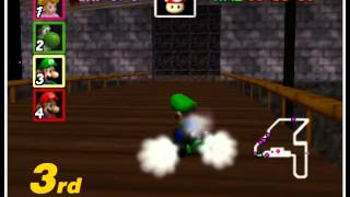Mario Kart 64 - Foodperson Attempts...Vizzed.com Play - User video
