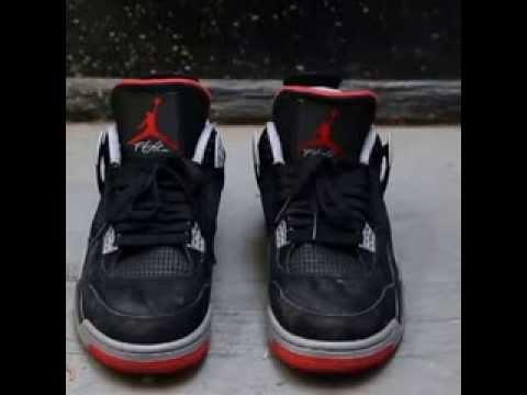 How To Clean Air Jordan 4's - YouTube