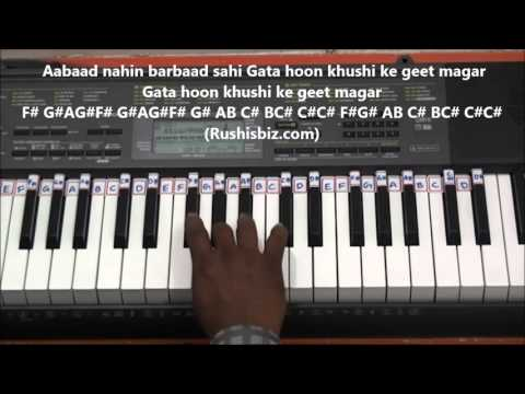 Awara Hoon. Hoon.. FULL SONG - Piano Tutorials | 7013658813 - PDF NOTES/BOOK - WHATS APP US
