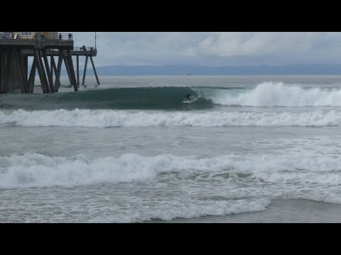 Huntington Beach, CA, Surf, 12/8/2019 AM - Part 3
