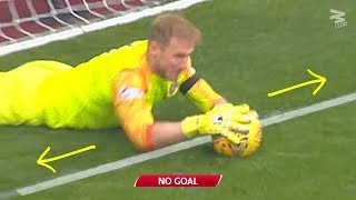 50 Goal Line Saves by Goalkeepers