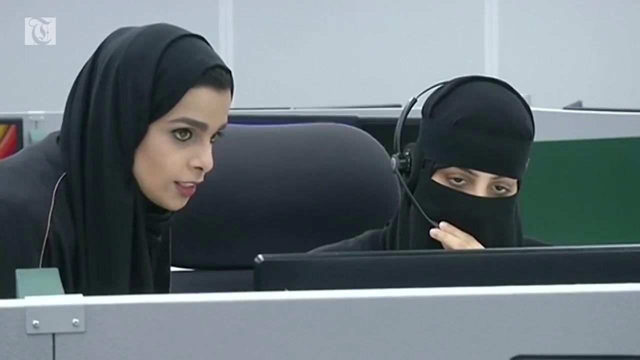 Saudi women take Mecca emergency role