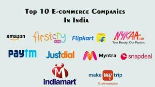 Top 10 e commerce companies in India 2020 - Ajoy Bouri
