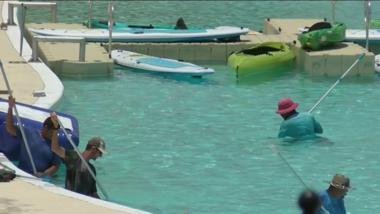Pasco County's crystal lagoon shut down
