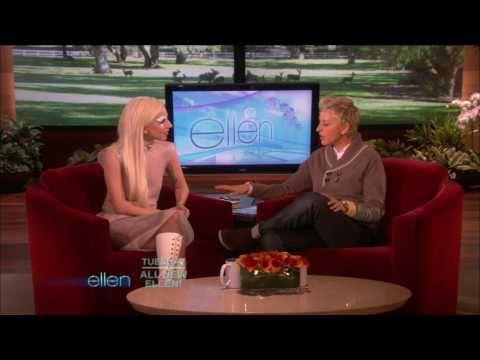Lady Gaga Interview, Ellen DeGeneres Show 11/27/2009