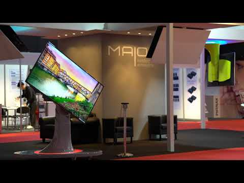 Maior® - Floor and ceiling TV mounts - #ISE2018 Amsterdam 2018