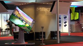 Maior® - Supporti TV da pavimento e soffitto - #ISE2018 Amsterdam 2018