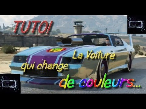 tuto gta5 une voiture qui change de couleur youtube. Black Bedroom Furniture Sets. Home Design Ideas