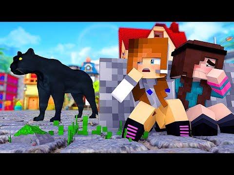 Minecraft: FAZENDINHA #27 - ENCONTREI UMA PANTERA! | BIBI |
