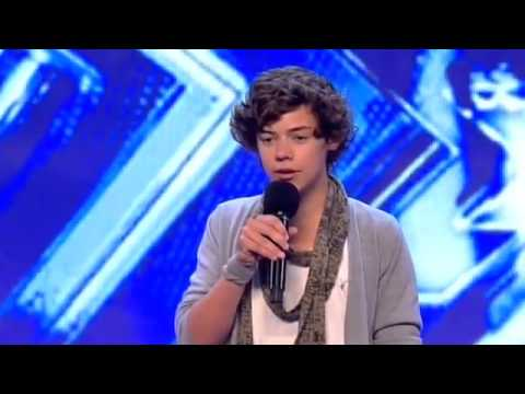 Harry Styles-X factor audition-2010-Isn't She Lovely :)