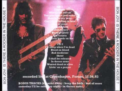 Bon Jovi - Live in Copenhagen 1993 [FULL]