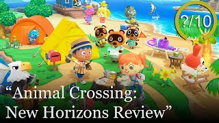 Animal Crossing: New Horizons Review [Switch] (Video Game Video Review)