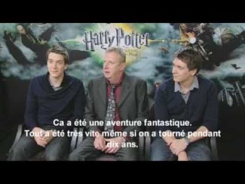 Interview Weasley Family - Harry Potter 7 - YouTube