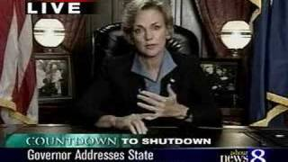 Governor Jennifer Granholm Addresses Michigan Citizens