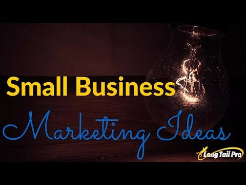 Marketing Ideas - Creative, Simple Marketing Ideas For Small Business