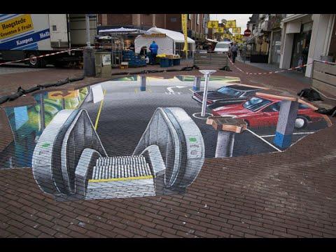 21 3D graffities-street art