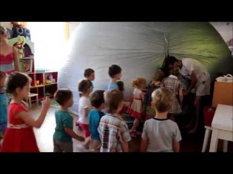 """Частный детский сад """"В гостях у Солнышка"""" Планетарий"""