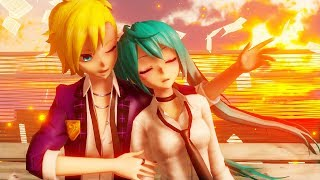 【MMD PV】命に嫌われている。Hated by life itself. - Hatsune Miku ・Kagamine Len (English / Romaji Sub)