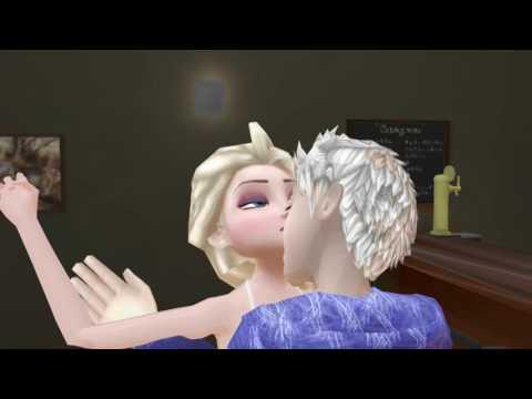 Disney Frozen2-Frozen Elsa Got Romanced by Jack Frost![Allenshayzar]
